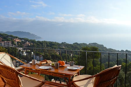Apartment with a breathtaking view - Palafrugell - Apartamento