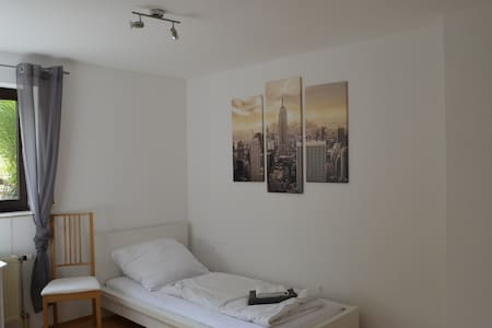 Apartment Thebenweg - bright 60m² in the basement - Würzburg - Appartement
