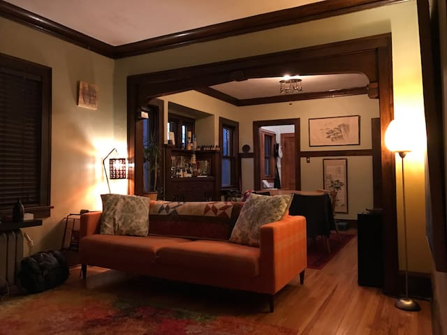 Warm and Cozy South Minneapolis Lower Duplex - Minneapolis - Apartmen