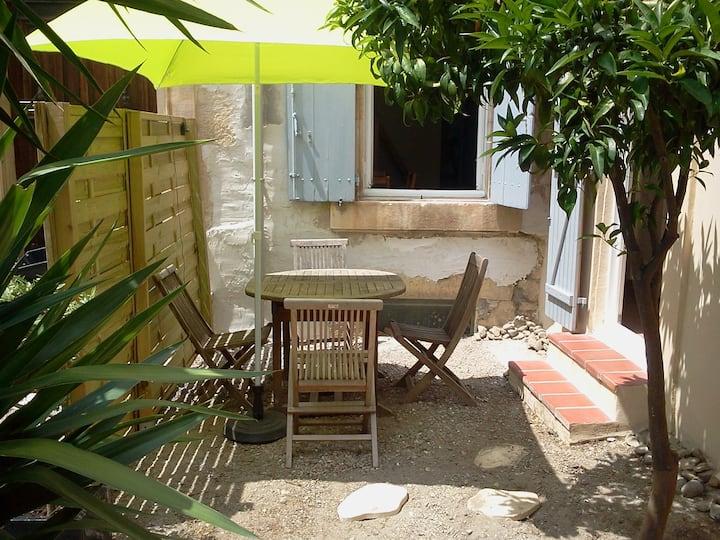 Studio indépendant entre Mer et Corbières