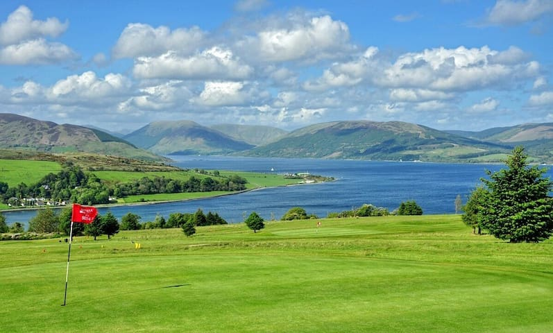 Port Bannatyne Golf Course.