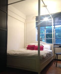 Double Room in an Art Deco Grade 2 Listed Building - London - Lejlighed