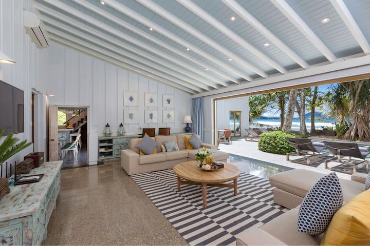 Kalim Beach House - 7 bed Villa with Beach & Pool
