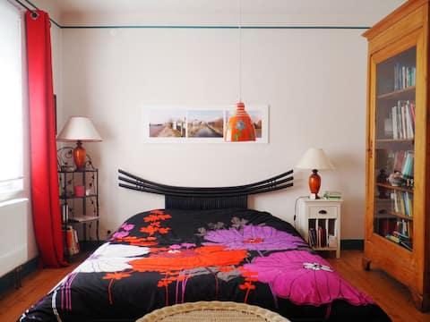 Chambre avec salon privatif au coeur de l'Alsace