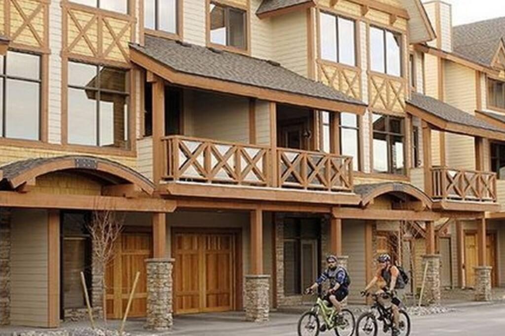 Enjoy a bike ride in this beautiful resort