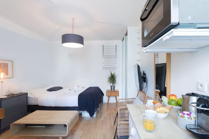 Cosy studio flat center of Paris