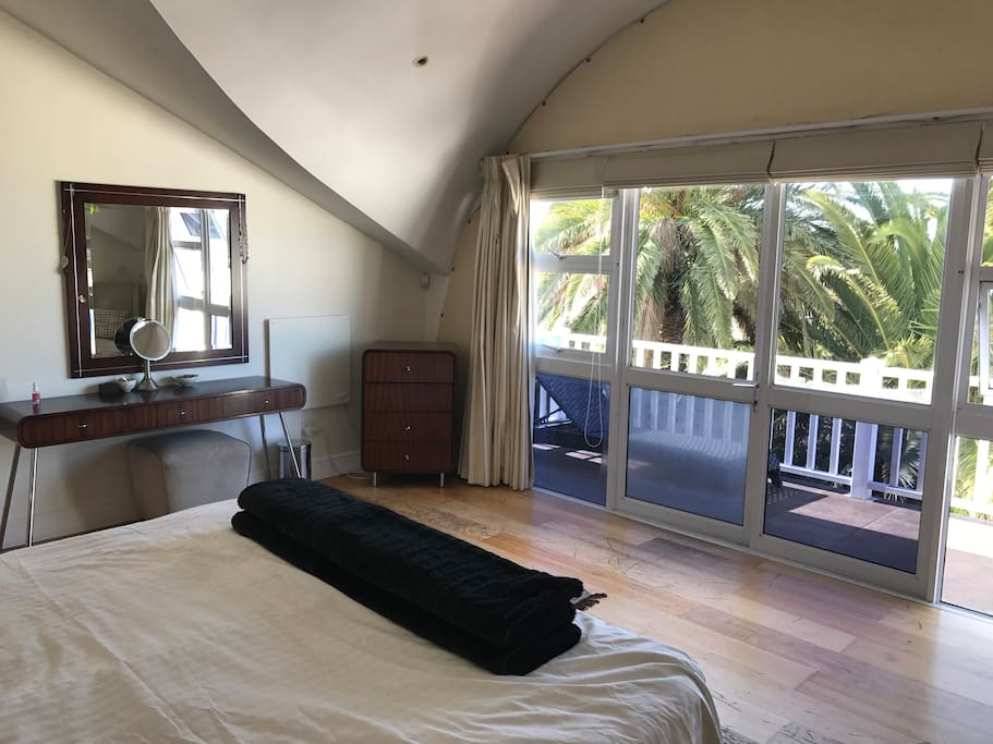 Main bedroom with views of the city bowl