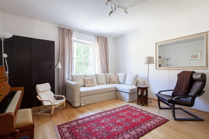 Cosy apartment, 10min to Hbf & Nymphenburg - Múnich - Apto. en complejo residencial