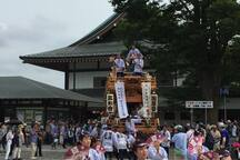 Narita of August is a festival season!! (as for the photograph Narita gion festival) We can guide to local festival at an every weekend.