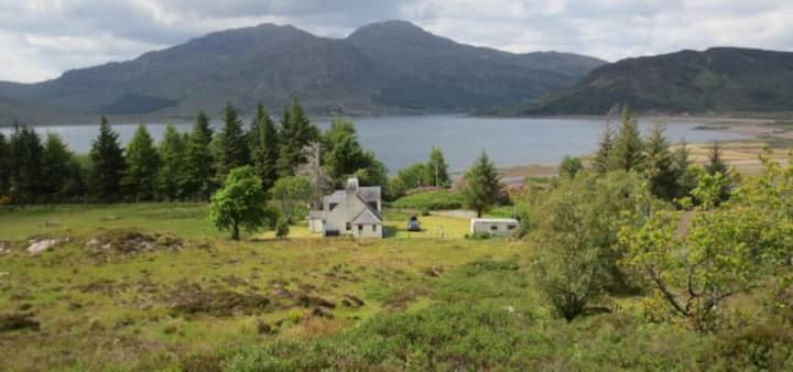 A traditional Highland home near Skye welcomes you
