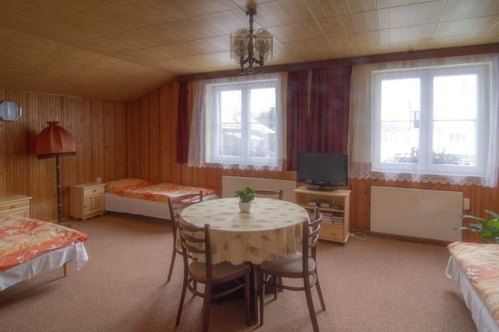 4-lůžkový rodinný apartmán  v Penzionu U Kubońů