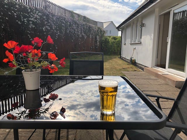 Making the most of a sunny day!