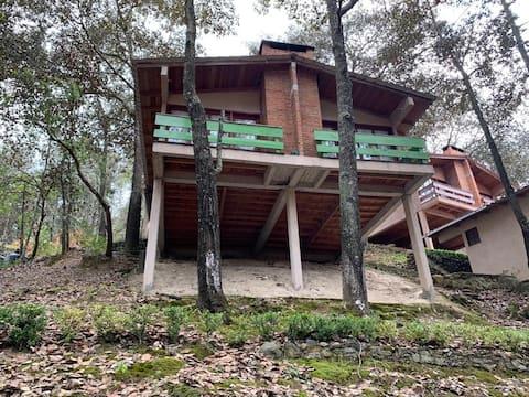 Cabaña-Habitación sencilla-2 personas.