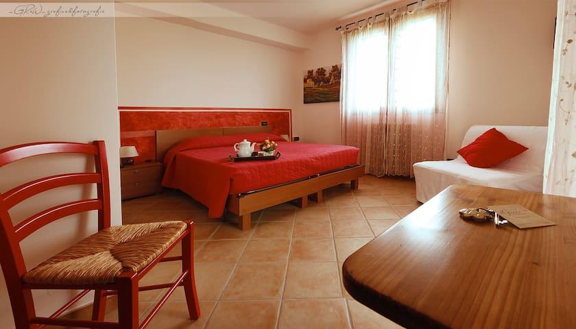 Camera rossa al B&B Il Guado - 2 - Voghiera - Bed & Breakfast