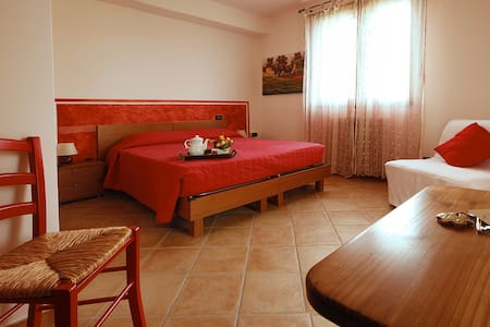 Camera rossa al B&B Il Guado - 2 - Voghiera - Bed & Breakfast