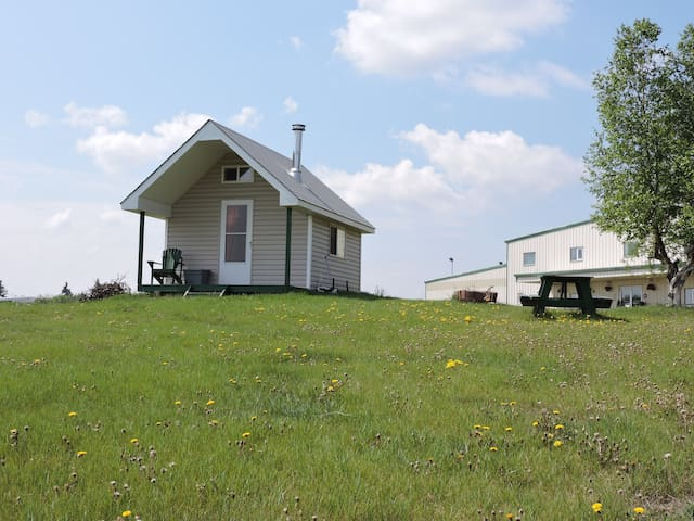 Tiny House with sleeping loft on Horse Ranch - Sturgeon County - Altres