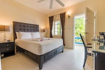A full view of your bedroom