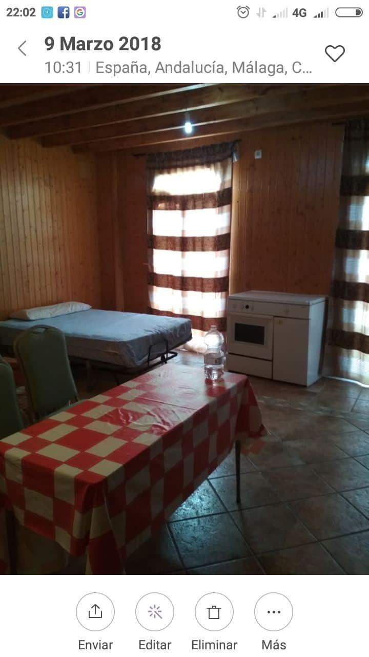 Dormitorio íntimo acogedor