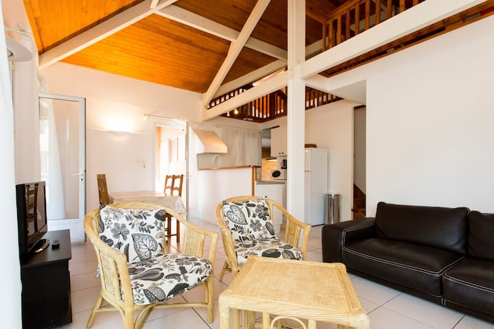 Villa 6p Golf & Plage SOUSTONS /Vieux Boucau - Soustons - วิลล่า