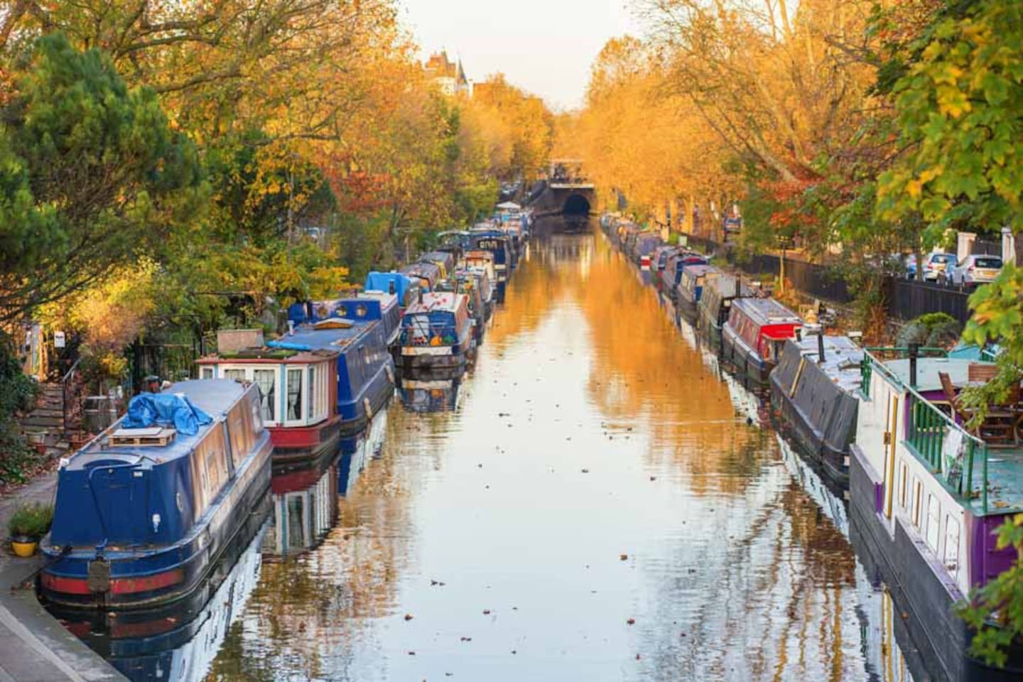 Little Venice canals - just down the road