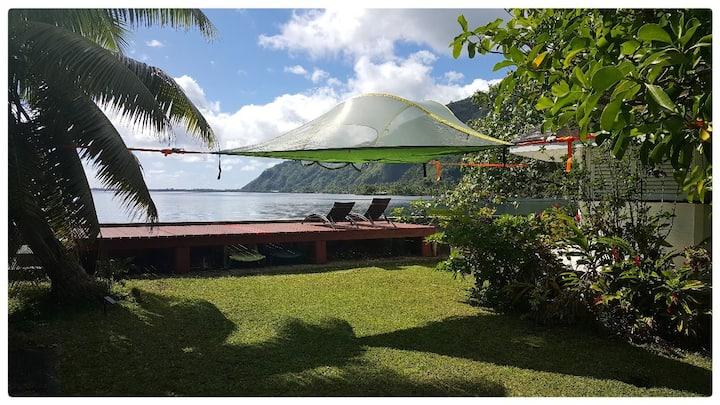 Villa Tautira, petit bout de paradis sur Tahiti