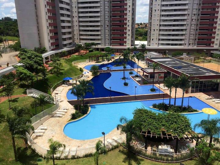 Apartamento Premium em condomínio clube