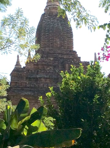 Bagan non hotel paradise/Privacy/Pool/Irrawady - Nyaung-U - Casa
