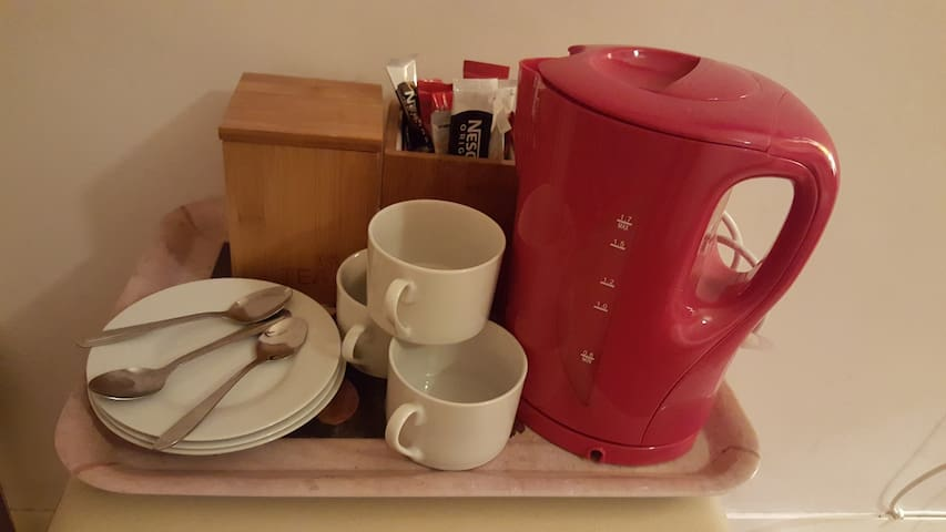 In-room Tea and Coffee making facilities