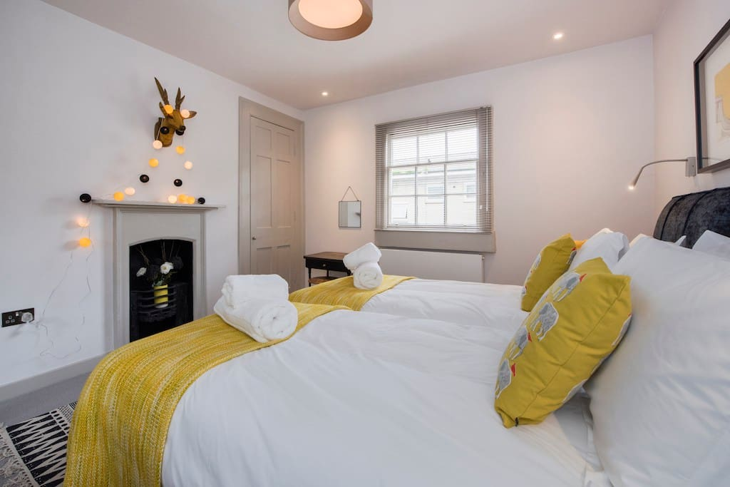 Bright and cheerful bedroom no 1