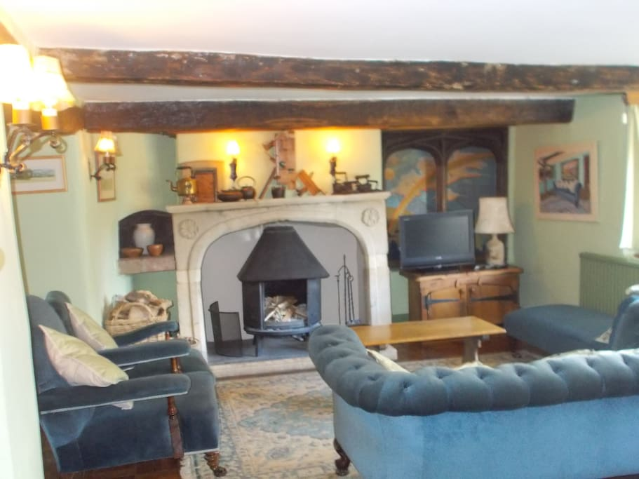 The Sitting Room so cosy & comfortable