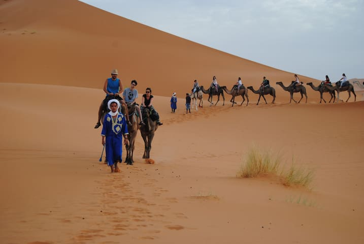 Discover erg Chebbi Desert With Hassan - Hassilabied - Bed & Breakfast