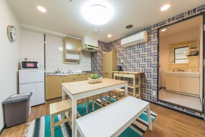 【Long term retnal】2 Bedroom near Kyoto station 102
