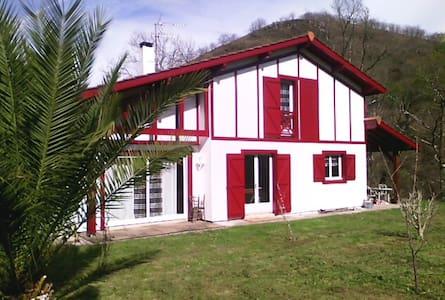 Petite maison ds la prairie basque  - Saint-Martin-d'Arrossa - Talo