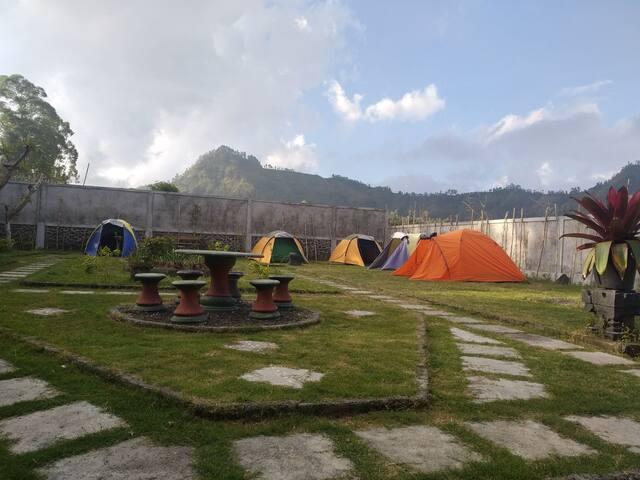 Campsite for Hiker's Mt Batur