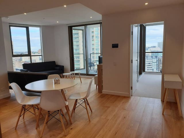 New Two Bedroom Apartment in the Heart of the City