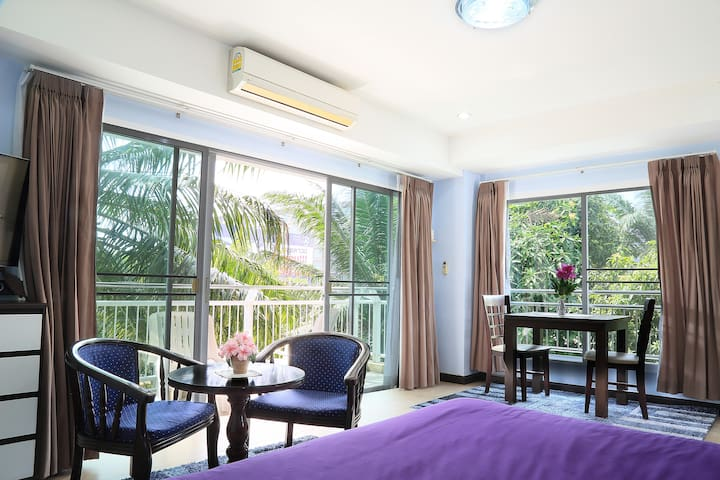 Luxurious & spacious (45m2) condo (204) - Tambon Hua Hin - Byt