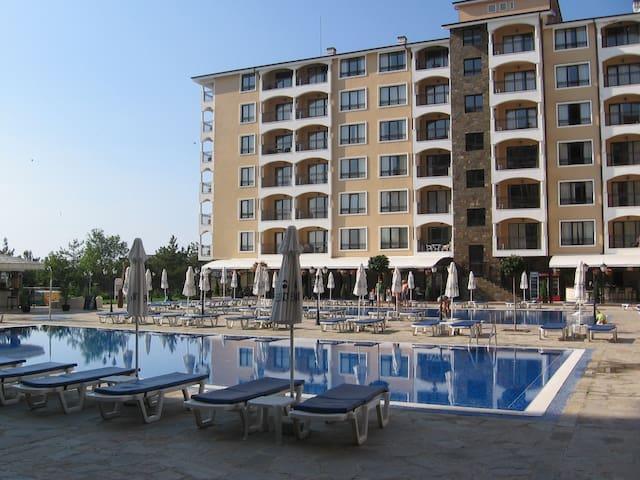 Lux, 1bedroom,sea-view,  2-4 persons,Aparthotel - Varna - Pis