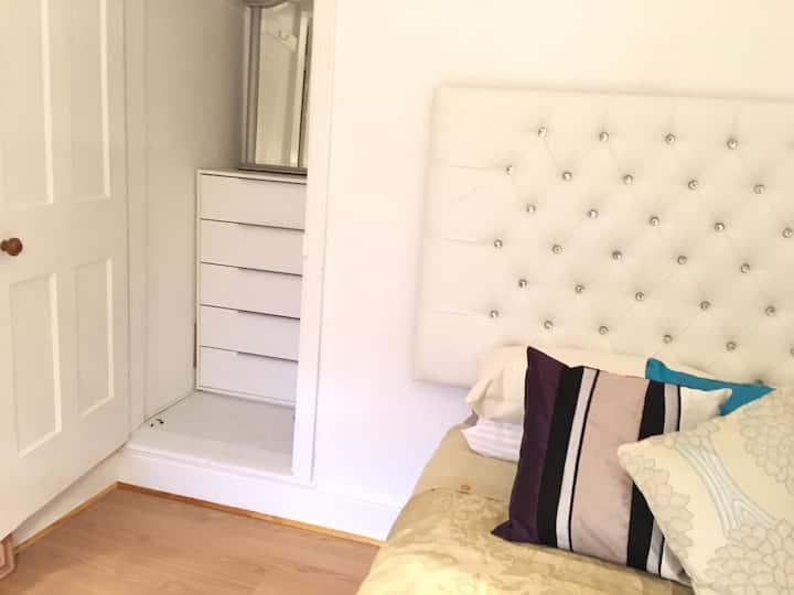 "Newly refurbished clean comfy room 47"" SMART TV!!"