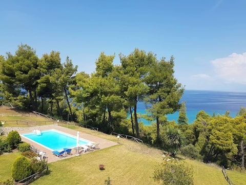 "Villa in kassandra,posidi ""sea view calm and cool"""