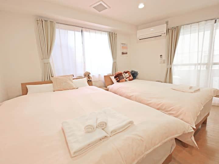 【#202】SHIBUYA 7MIN SHINDAITA STN 5MIN 3PPL 1R 38m²