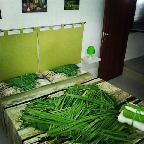 B&B ExtremoSud Portopalo di C.P.  Green room - Portopalo di Capo Passero - Bed & Breakfast