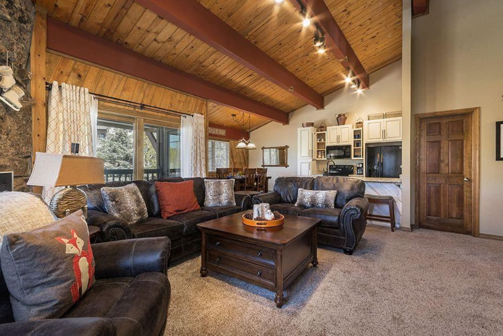 You'll love the gas fireplace.