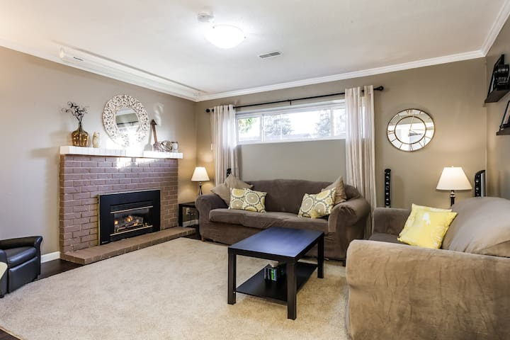 Cozy Canterbury Heights Private Suite - Delta - Casa