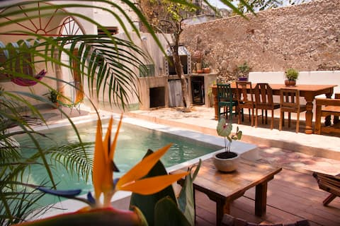 2/ Room with breakfast in eco colonical house
