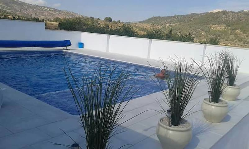 Private 2 bed villa with pool - Algueña - 別荘