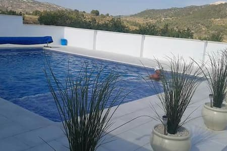 Private 2 bed villa with pool - Algueña
