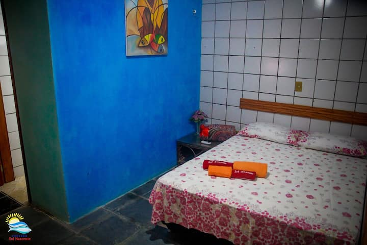 Excelente Suíte localizada na Pousada Sol Nascente - Praia do Diogo - Beberibe - Ceará – Brasil