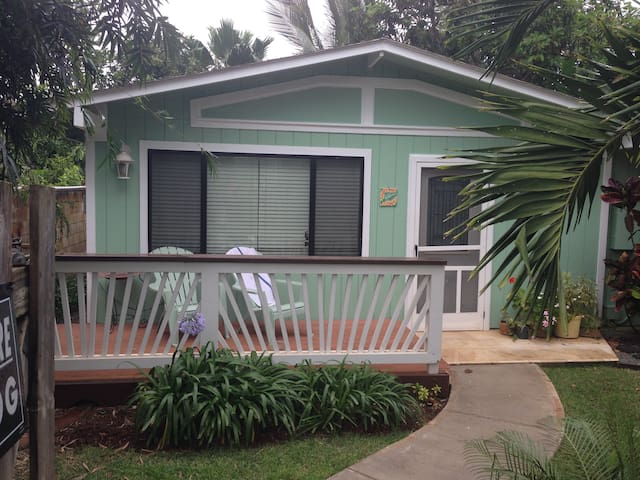 Cozy cottage surrounded by garden at North Shore - Waialua - Cabaña