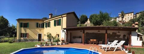 Casa Chioccia casa di paese con piscina