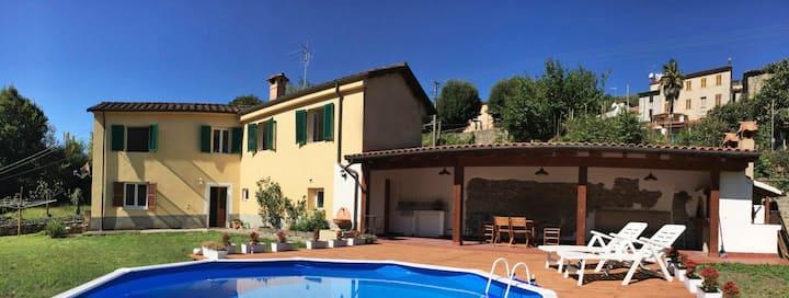 Casa Chioccia village house with pool